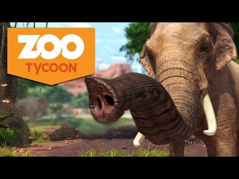 Zoo Tycoon Xbox One Gameplay #1 - Let's Play Zoo Tycoon German