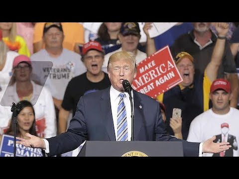 Trump mocks ongoing Russia probe at West Virginia rally