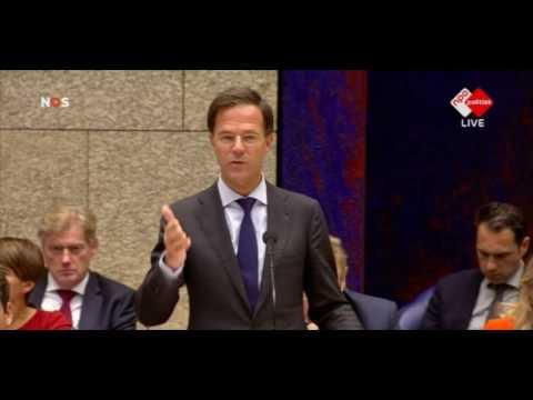 Wilders tegen Rutte: ''U bent de kat in de zak''