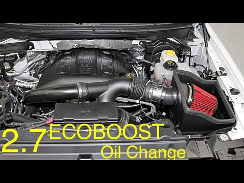 2 7 Ecoboost F 150 Oil Change The Right Way Light Reset