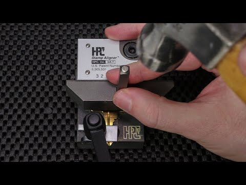 How To Stamp Keys Perfectly Every Time | Check Out The HPC Stamp Aligner SA-7