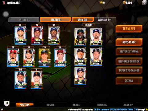 Mlb perfect inning 15 roster update w more promo codes youtube