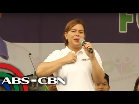 The World Tonight: Sara Duterte wants rules on senatorial candidates' debate