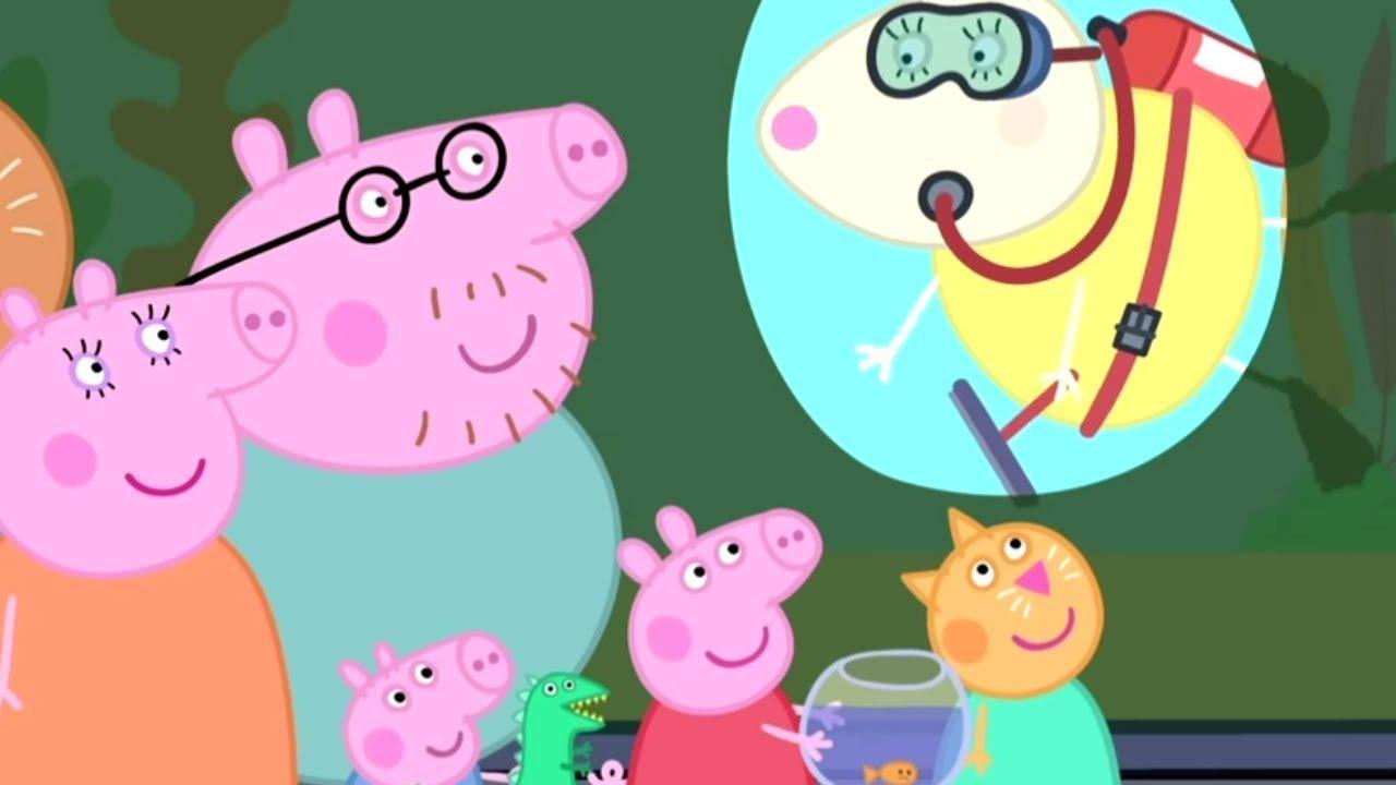 Peppa Pig Português Brasil | O AQUÁRIO! 🐟 | HD | Desenhos Animados