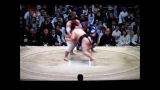 豪栄道vs栃ノ心 平成27年大相撲春場所 Goeido vs Tochinoshin SUMO.