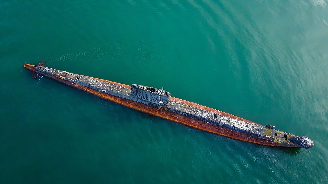 Abandoned Submarine   HMAS Otama   Mavic Pro 4K