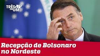 Deputado do PT diz que recepção a Bolsonaro no nordeste não será boa
