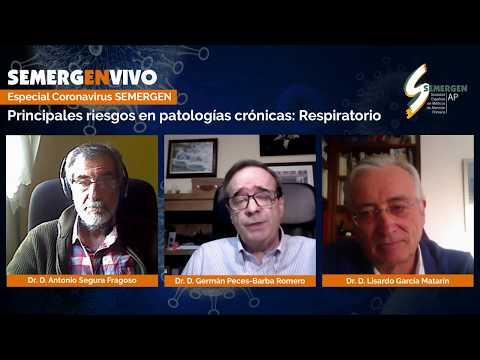 Especial Coronavirus SEMERGEN: Principales Riesgos En Patologías Crónicas: Respiratorio
