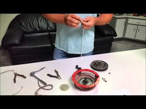 How To Replace a Starter Rope on a Honda GX 140