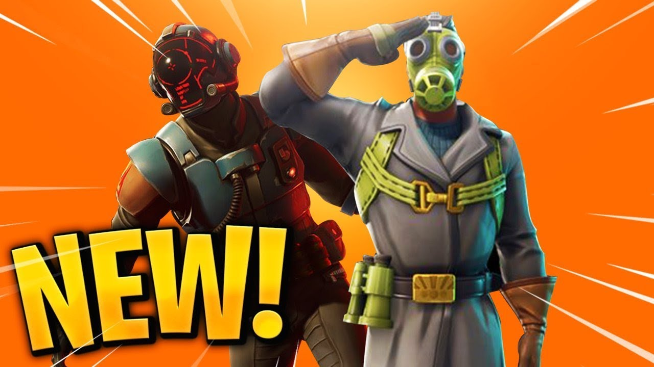 14 NEW Fortnite Skins... (Blockbuster Skin) - YouTube