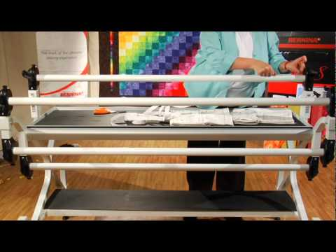BERNINA Quilt Frame Instruction Part 40 Of 40 YouTube Stunning Quilting Frame For Domestic Sewing Machine