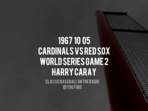 1967 10 05 Cardinals vs Red Sox World Series Game 2 Complete Radio Broadcast