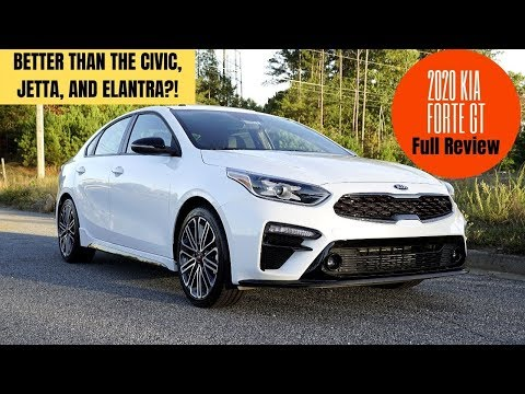 2020 Kia Forte GT - Full Review Inside, Out, Drive