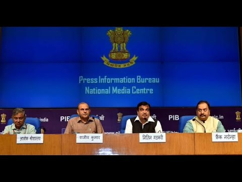Press Conference by Shri Nitin Gadkari on Modernisation of Major Ports