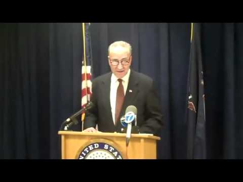 U.S. SENATOR SCHUMER CALLS FOR DO NOT RIDE LIST ON AMTRAK.flv