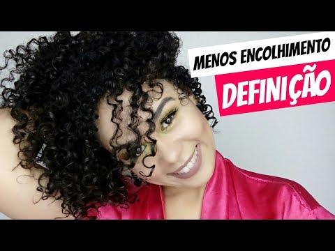 MUITA DEFINIÇÃO COM MENOS ENCOLHIMENTO DOS CACHOS com essa FITAGEM!| Claudia Amorim