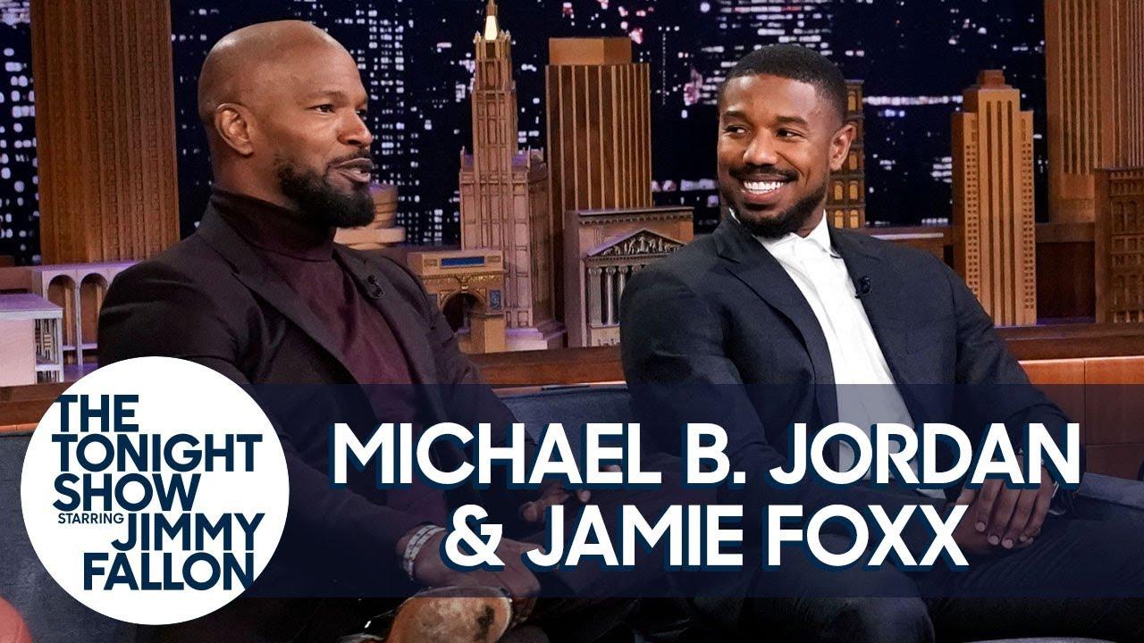 Michael B. Jordan and Jamie Foxx Recall Filming Just Mercy's Emotional Courtroom Scene