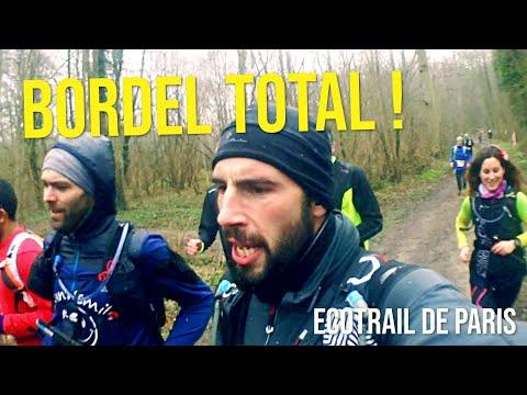 ECOTRAIL DE PARIS 2018 - L'ECOMUDTRAIL !!