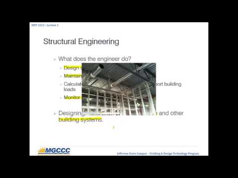 Structural Drafting - Lecture 1