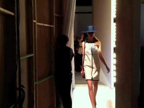 Backstage - London Fashion Week - Jaeger Of London SS12 - Somerset House  - 2012
