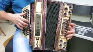 Slowenischer Bauerntanz (Slavko und Vilko Avsenik) - Steirische Harmonika: Hansi Schitter