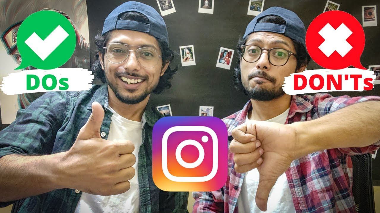 TOP INSTAGRAM DOs and DON'Ts 2020 | How to Grow on Instagram Organically in Hindi | Instagram Hacks