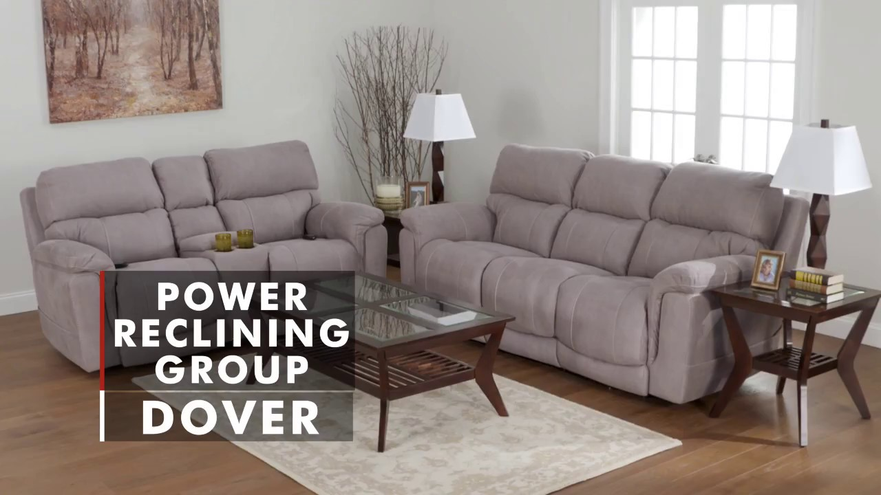 Dover Dual Power Reclining Sofa Reclining Sofas Sale Wg R Furniture