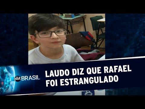 RS: Laudo Da Perícia Revela Que Menino Rafael Foi Morto Por Estrangulamento | SBT Brasil (26/05/20)