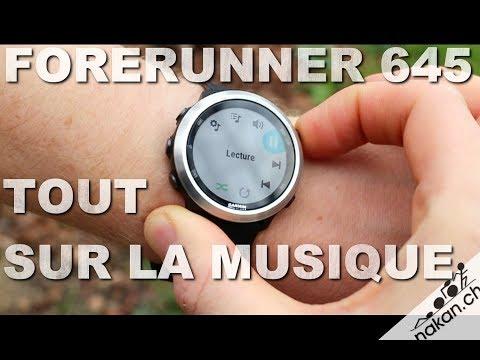 Garmin Forerunner 645: Tout sur la musique thumbnail