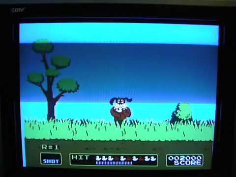 how to make duck hunt work on hdtv