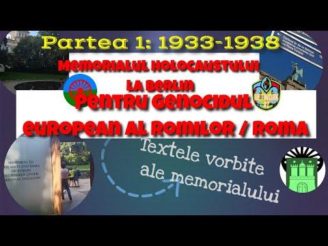 Partea 1: Memorialul holocaustului de la Roma la Berlin - cronologie 1933-1939 - NetworkAZ
