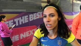 Анастасія Бризгіна - про дебют на чемпіонаті світу з легкої атлетики