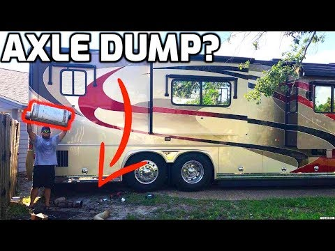 I STRAIGHT PIPED MY PARENTS HUGE 45ft DIESEL RV! (IM SORRY)