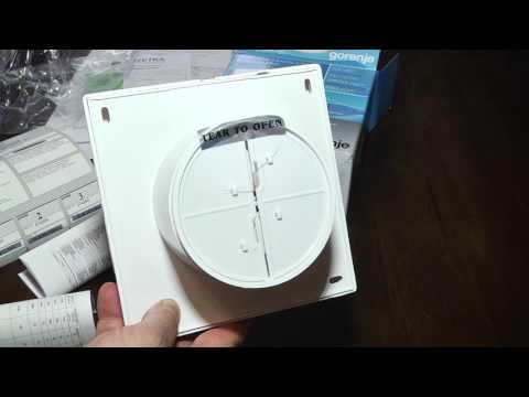 вентилятор Gorenje BVN100WS