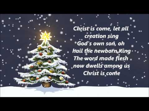 Big Daddy Weave - Christ Is Come (Lyrics)