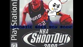 Gaming In 1999 || NBA Shootout 2000
