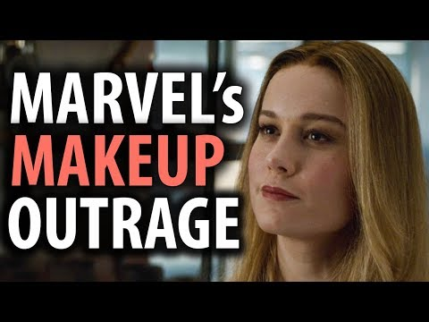 Captain Marvel's Makeup in Avengers Endgame Triggers SJWs