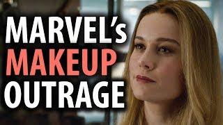 Captain Marvel's Makeup in Avengers Endgame Triggers SJWs