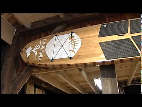 "Made in Maine Paddleboards by ""Tidal Roots"""