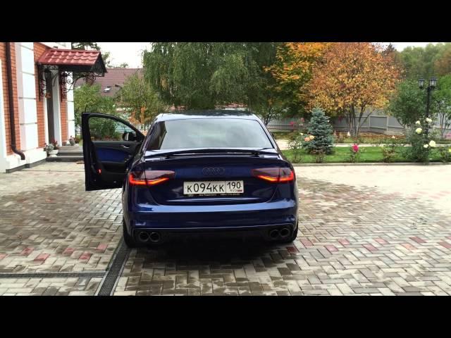 Audi A4 electric spoiler