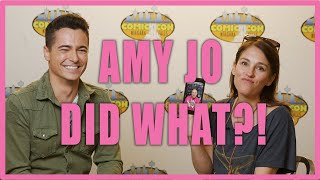 AMY JO JOHNSON answers MOST ASKED questions! (feat. David Yost) YouTube Videos