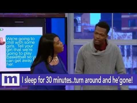 I sleep for 30 minutes..turn around and he's gone! | The Maury Show