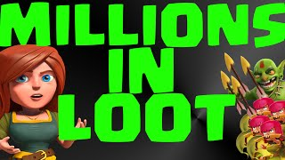 CLASH OF CLANS BEST FARMING STRATEGY! WIN MILLIONS!