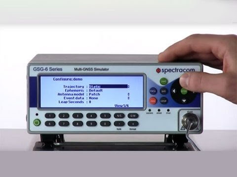Create artificial GPS RF Signals with SatGen GPS Simulation Software