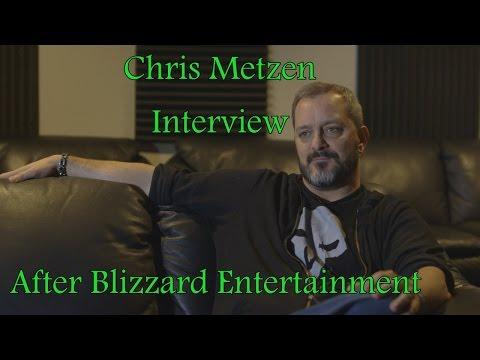 Chris Metzen Interview {Warcraft} after Blizzard Entertainment special