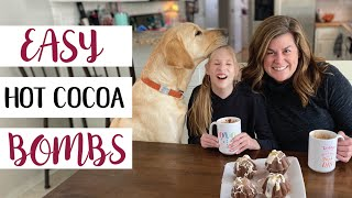 Ruby Makes Hot Cocoa Bombs🍫 ☕️ 🍫