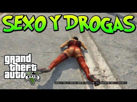 GTA V ONLINE, SEXO, DROGAS Y ALCOHOL, LE SALEN PELOTAS DE LA CHIRLA GAMEPLAY GTA 5
