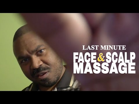 [ASMR] Last Minute Face and Scalp Massage Role Play MASSAGE THERAPIST | Hand Movements & Hand Sounds