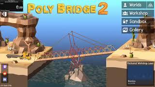 Poly Bridge 2 Any% speedrun