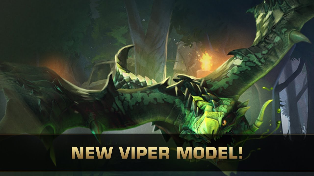 dota 2 new model viper patch 7 00 youtube